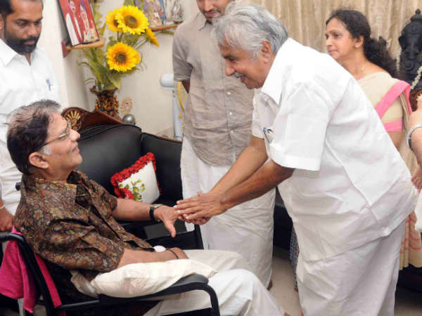 Oommen Chandy's Chat With Jagathy