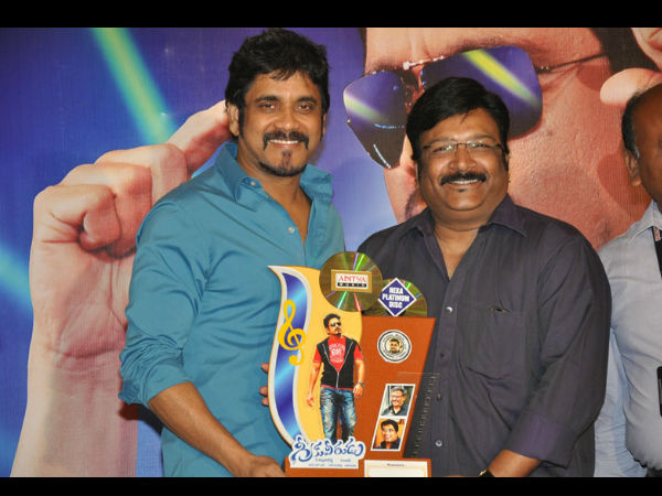 Nagarjuna With Producer Shiva Prasad Reddy