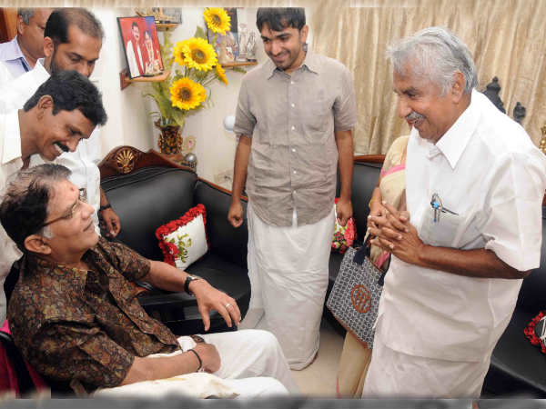 CM Chandy meets Jagathy