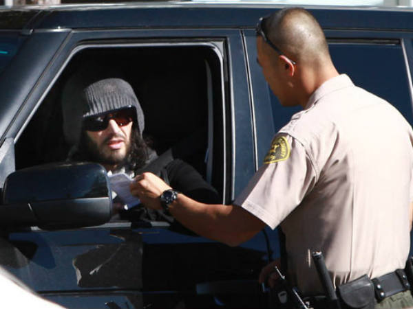 Russell Brand's Fight With A Guard