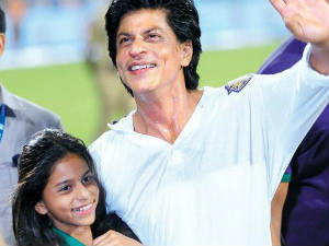Shahrukh Khan and Suhana