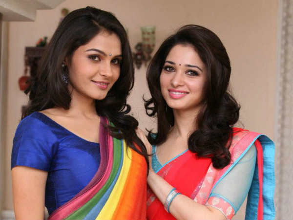 Tamanna And Andrea's Glamour