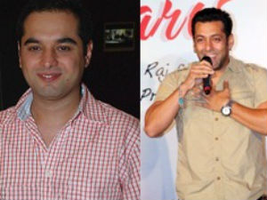 Prem Soni and Salman Khan