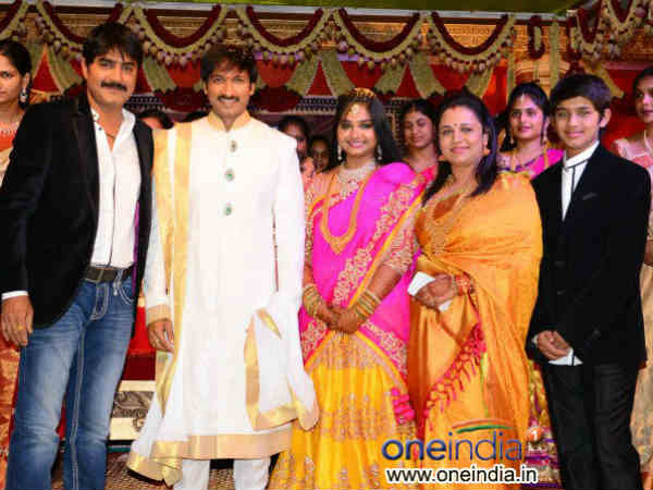 Click Here For More Gopichand S Wedding Photos