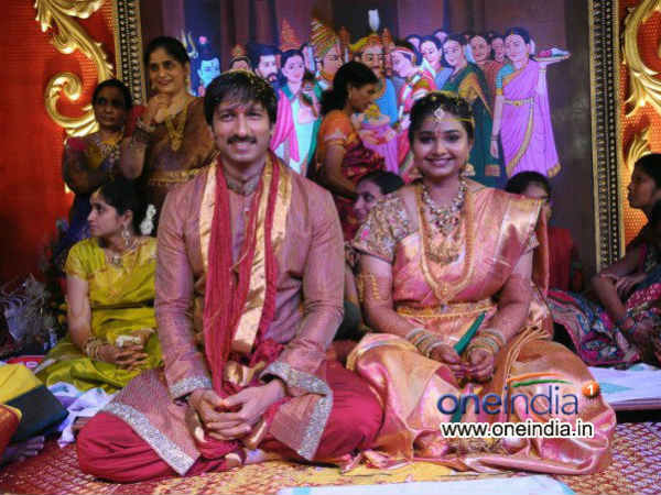 Gopichand-Reshma Wedding