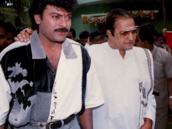 NTR And Chiranjeevi
