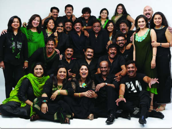 Chiranjeevi And Friends