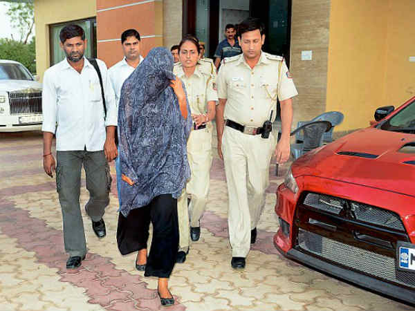Leena Maria Paul's Arrest