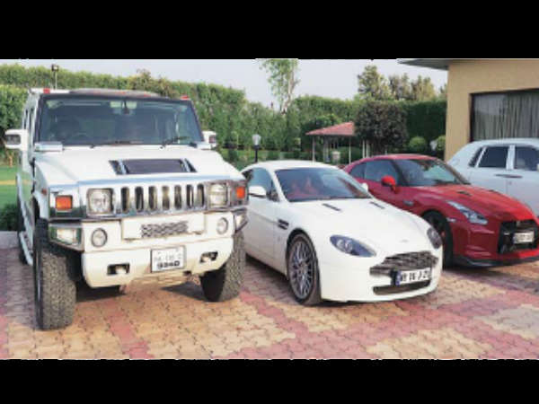 Leena Maria Paul's Luxury Cars