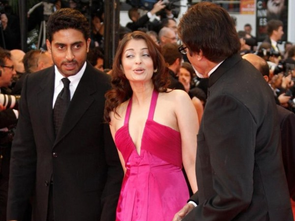 Aish With Abhi And Big B