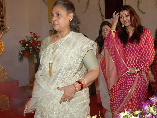 Aishwarya With Jaya