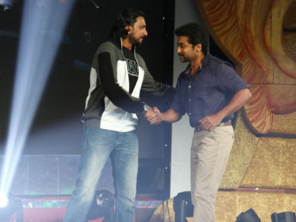 Sudeep With Surya