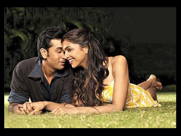 Ranbir and Deepika Romance