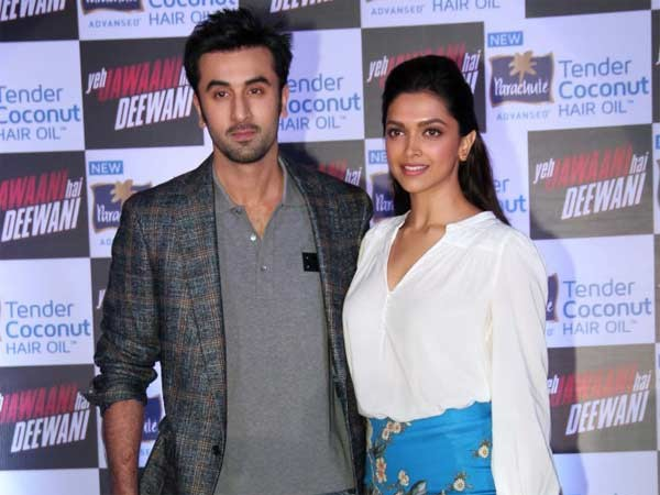 Love Birds Ranbir-Deepika