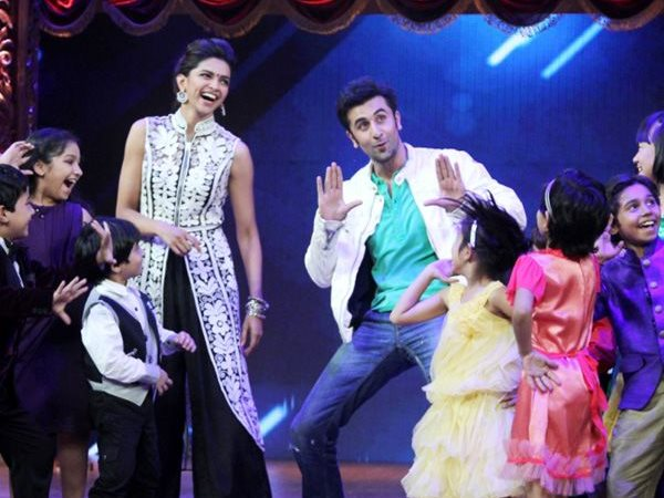 Ranbir and Deepika's Candid Moments