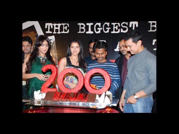 Ghajini 200 Days Celebration