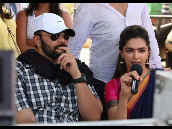 Deepika Padukone And Rohit Shetty