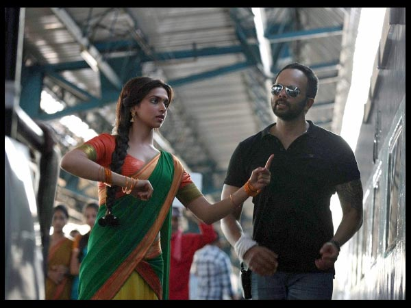 Deepika Padukone At Station