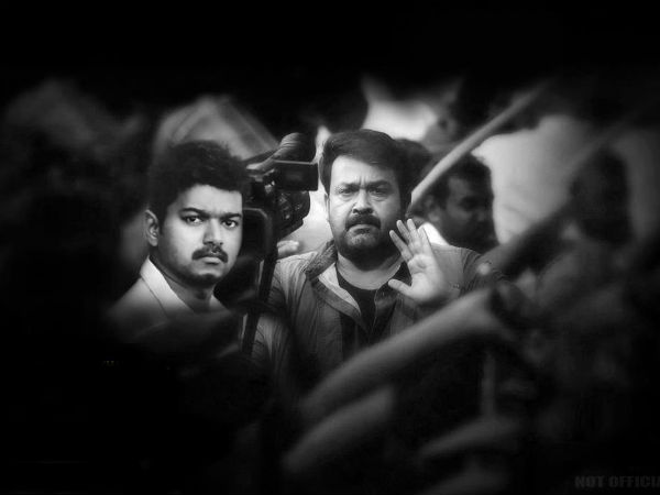 Mohanlal Shares Screen With Vijay