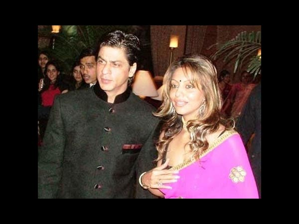 Shahrukh-Gauri In Traditional Clothes