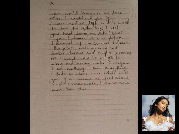 shocking revelation: jiah khan's suicide letter exposes her