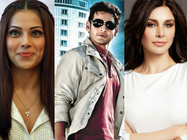 Mahesh Babu-Bipasha Basu And Lisa Ray