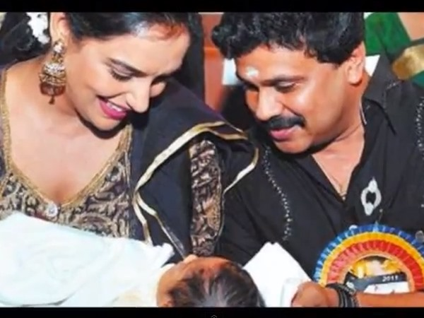 Dileep Playing With Shwetha's Baby
