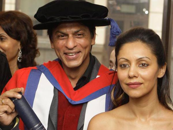 Gauri And Shahrukh