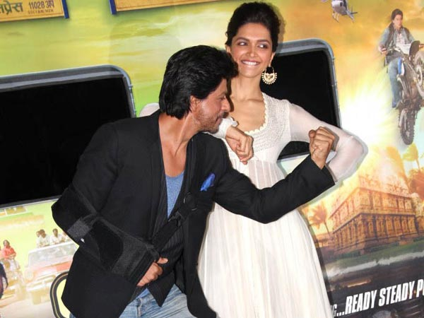 Deepika With Shahrukh