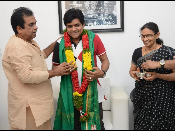 Brahmanandam And His Wife