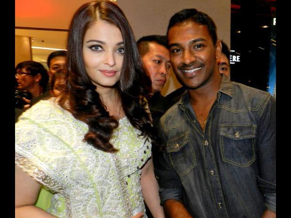 Aish With Fan