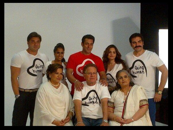 Salman And His Family
