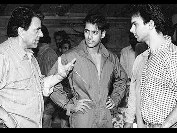 The Khan Brothers And Dharmendra