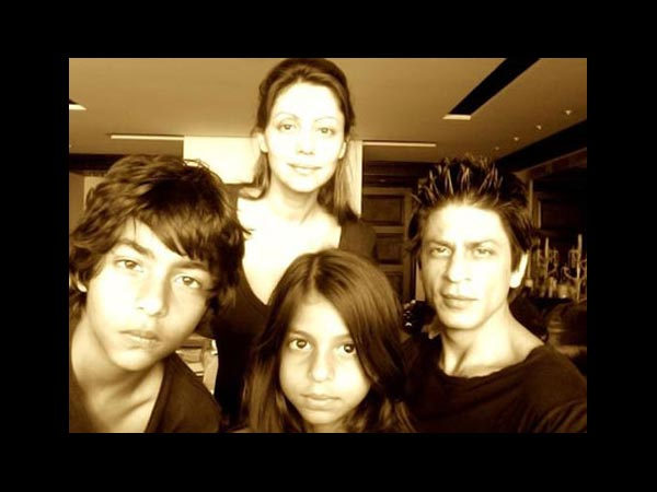 Shahrukh And His Kids