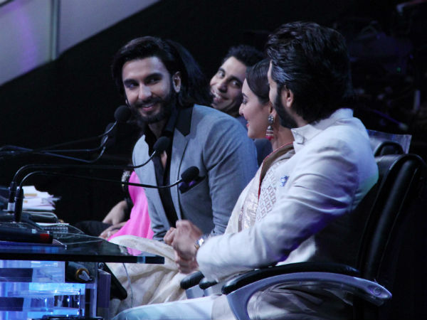 Ranveer And Sonakshi Joined The Judegs