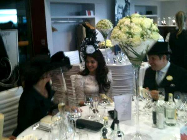 Aish At The Dinner