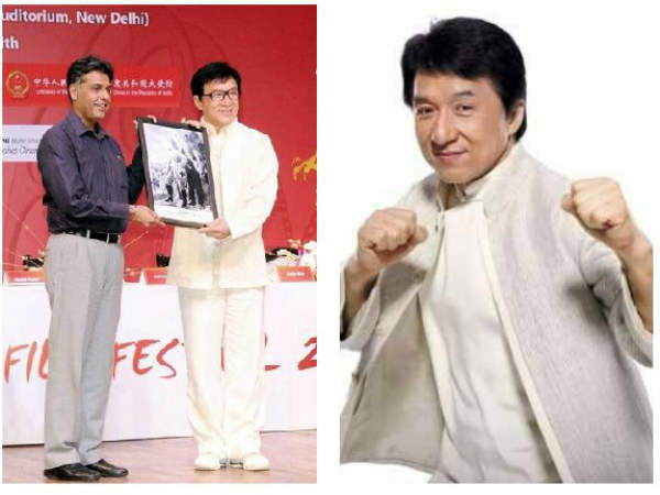 China Film Festival: Namaste to Indian fans: Jackie Chan