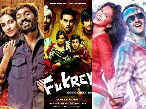 Raanjhanaa, Fukrey and YJHD