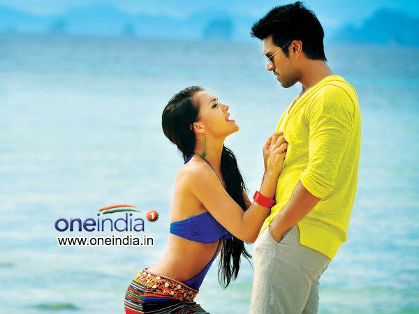 Ram Charan And Amy Jackson