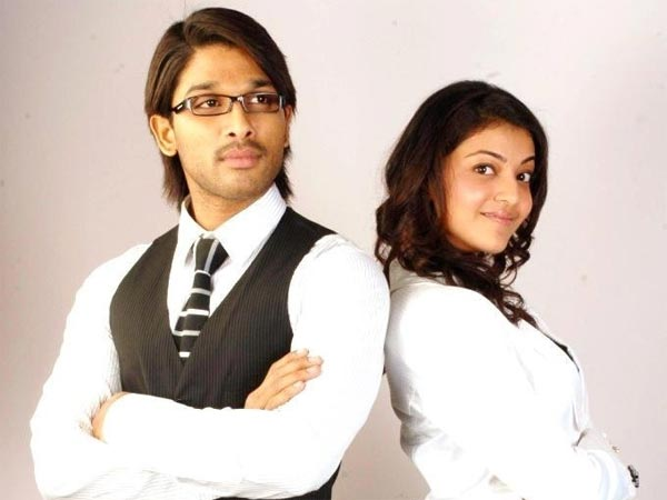 Allu Arjun And Kajal Aggarwal