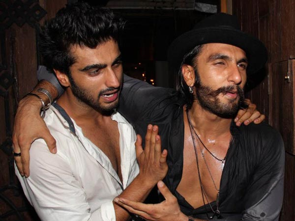 Arjun With Ranveer