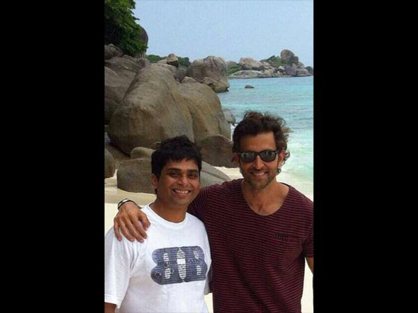 Hrithik With Fan
