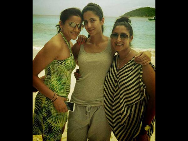 Katrina With Friends