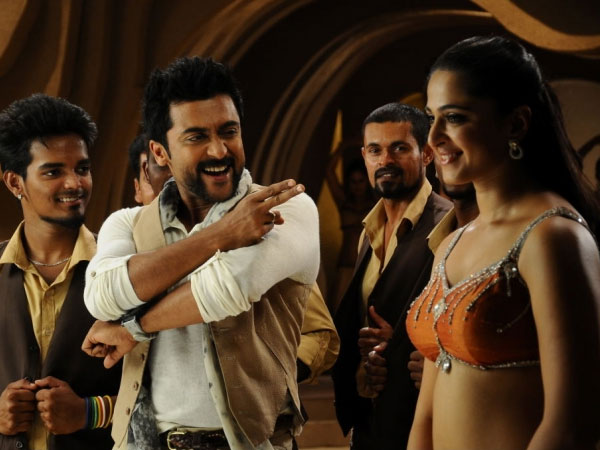 Singam 2 roars surya anushka shetty filmibeat still from singam 2 thecheapjerseys Image collections