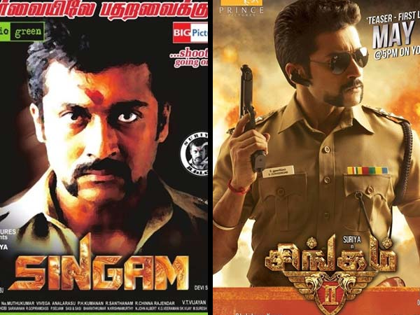The Kollywood Strom Start From Singam 2