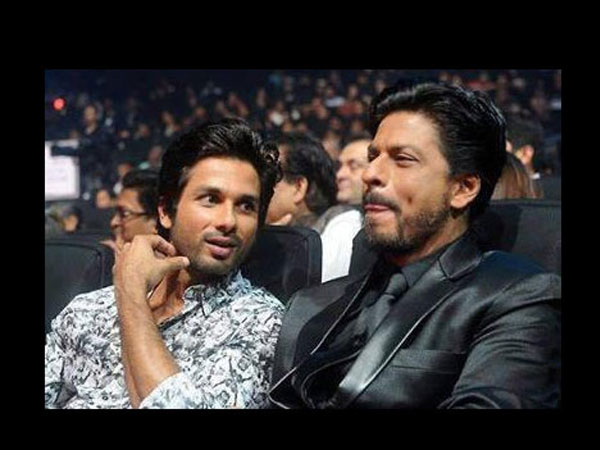 Shahrukh-Shahid At IIFA