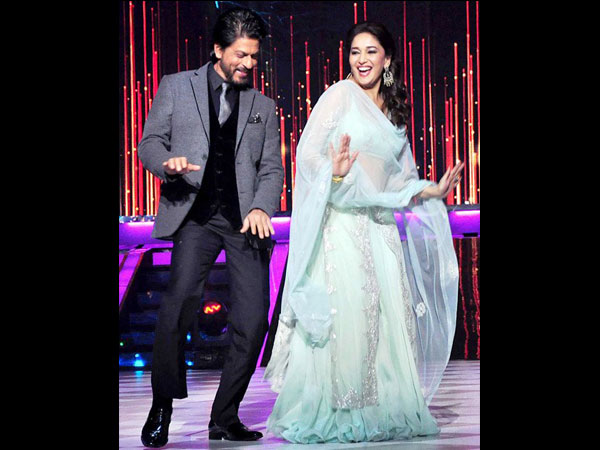 SRK-Madhuri Rocks The Dance Floor
