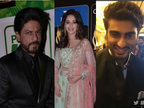 Celebs At IIFA Rocks 2013 Green Carpet