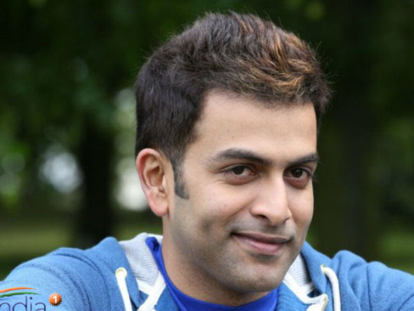 Prithviraj's New Look