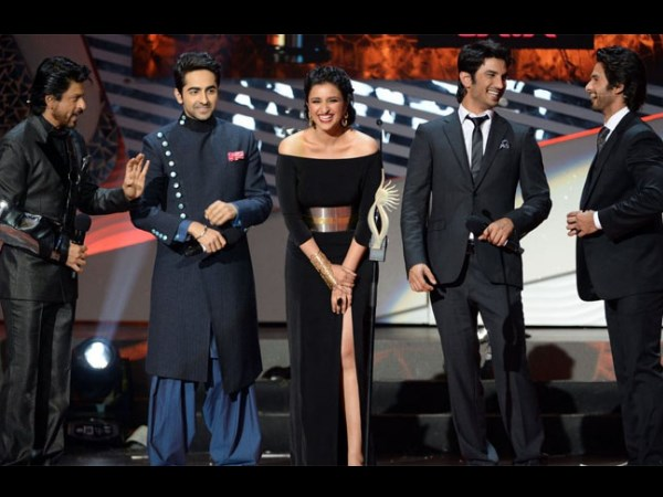 Ayushman, Parineeti And Sushant Singh Rajput